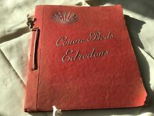 ancien cahier classeur de modéles édredons courtepointe  couture année 50 boutis