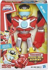 Hasbro Playskool Heroes Transformers Mega Mighties Hot Shot in stock
