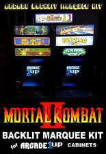 Arcade1up Mortal Kombat Ii Backlit Marquee Kit for Arcade1up Cabinets - Green