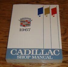 1967 Cadillac Shop Service Manual 67