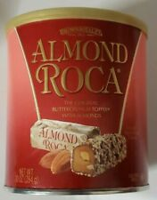 Brown & Haley ALMOND ROCA Buttercrunch Toffee with Almonds - 10 oz - Exp 7/2021