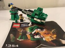 Lego Studios 1354 Dino Head Attack - 100% complete (2001) RETIRED & RARE!