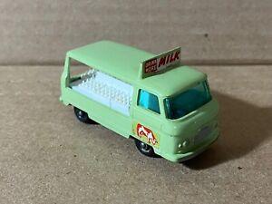 Vintage Lesney Matchbox Commer Bottle Float Milk Truck Regular Wheels No. 21 EX+