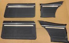 1969 Nova Door Panels Front and Rear Set, Chevy II, General Motors, GM