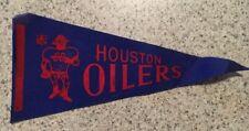 Houston Oilers Vintage NFL Mini Felt Pennant 1960's TEXAS Football