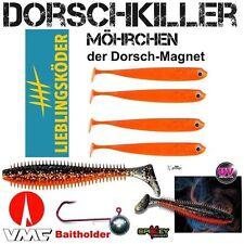 VMC BAITHOLDER 8//0 50 g Dorschmagnet 2+2 20 cm LK Mörchen+Rage Tiddler Fast HT