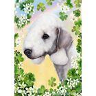 Clover Garden Flag - Bedlington Terrier 311321