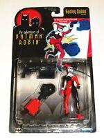 1997 HARLEY QUINN ADVENTURES OF BATMAN AND ROBIN ACTION FIGURE KENNER DC COMICS!