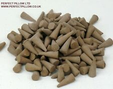 """RAW UN FRAGRANCED INCENSE CONES 1"""", 1000+ ,MAKE YOUR OWN INCENSE, FREE POSTAGE"""