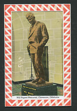 Will Rogers Statue, Will Rogers Museum, Claremore, Ok * Var. 2 *