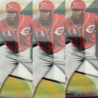 2020 Topps Finest Aristides Aquino 3 Base Rookie Card (LOT OF 3)