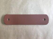 Poignée de meuble en cuir 15 cm