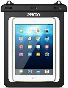 """Betron Waterproof Carry Case Sleeve Cover Apple Samsung Tablets up to 10"""" Inch"""