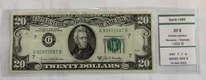 FRN 1969 B - $20 - UNCIRCULATED
