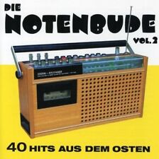 NOTENBUDE-VOL.2 40 HITS AUS DEM OSTEN - SPEED, TRANSIT, HOLGER BIEGE - 2 CD NEUF