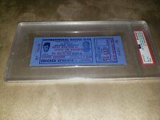 1953 Marciano Walcott full blue version boxing ticket-Psa 6 Exmt
