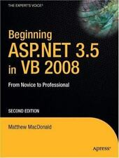 Beginning ASP.NET 3.5 in VB 2008: From Novice to Professional, Second-ExLibrary
