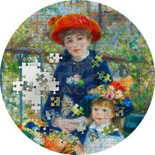 Palau 2020 20$ TWO SISTERS On The Terrace Renoir Micropuzzle Treasures 3oz