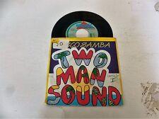 "TWO MAN SOUND - Disco Samba - 1985 Dutch 7"" 2-track Juke Box Single"