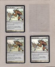 MTG - 3X Raise the Alarm X3 - Mirrodin - Common NM/MT - Foil 3 Cards