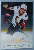 2018-19 Upper Deck Silver Foil #131 Mark Borowiecki Ottawa Senators