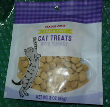 Trader Joe's Cat Treats grain free with Turkey kitten snack food * New fast ship