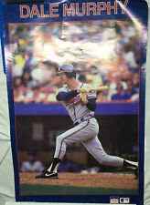 1987 Starline Dale Murphey Atlanta Braves Wall Poster 23x24