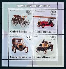 COCHES / CARS - GUINEE-BISSAU 2006, MNH sheet