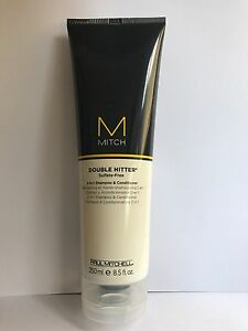 PAUL MITCHELL MITCH DOUBLE HITTER 2-IN-1 Shampoo & Conditioner 250ml