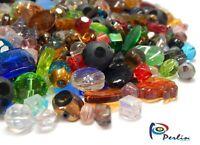 Glasperlen Gemischte Bunte Schmuckherstellung 500g / 1kg Crytal Perlen Mix V1
