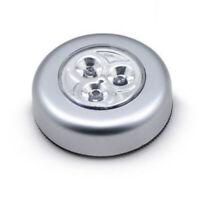 Batterien selbstklebend Unterbau Schrank Leuchte Licht 3 x LED Touch Lampe inkl