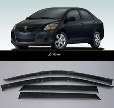 For Toyota Yaris Sd / Belta 2005-2011 Window Visors Rain Guard Vent Deflectors