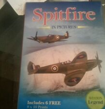 Spitfire in pictures  – 2011 by Les Perera (Author)  with 6 prints  WWII