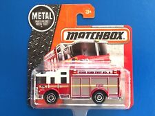 2016 Matchbox NEW YORK FIRE DEPT NYFD HIGH RISE RESCUE HAZARD SQUAD fire engine!
