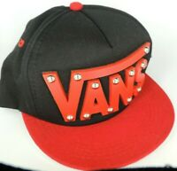 VANS Flat Brim Snapback Hat  Cap new with tags from ICONS brand w/ Unique design