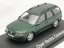 Schuco Opel Vectra B Caravan grün Modellauto 1:43 TOP! OVP 1609-20-97