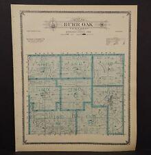 Iowa Winneshiek County Map Burr Oak Township 1905  K14#86