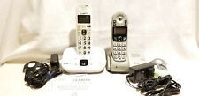Lot Clarity D714 Amplified Cordless Speakerphone Caller White & ClearSounds a55