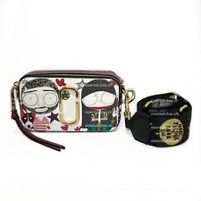 ON HAND Marc Jacobs X Anna Sui Printed Snapshot Small Camera Bag COD/CC