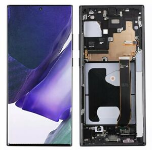 USA OLED Display LCD Touch Screen+Frame For Samsung Galaxy Note 20 Ultra Black
