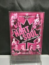 WWE: Hart and Soul - The Hart Family Anthology  (DVD, 2010, 3-Disc Set) Dynasty