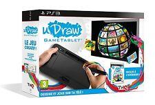 U DRAW  GAME TABLET  + LE JEU U DRAW STUDIO    --  NEUF  -----   pour PS3