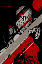 The Wolf Man Glow in the Dark Variant Mondo Movie Poster Martin Ansin Monsters