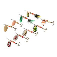 trout  lures 10 Spinners Brand New Many Colors