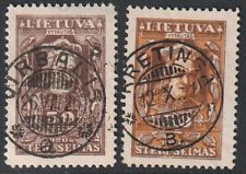 Lithuania 1920 Mi 81I, Variety - changed color, Used