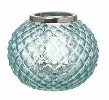 Parlane 'Abha' Glass Tea Light Holder, Blue