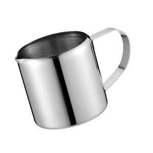 Small Milk Frothing Jug Mug Cup Coffee Latte Pitcher Barista Craft Jug 5oz