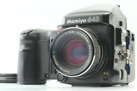 【NEAR MINT++】 Mamiya 645 Pro WC401 Grip w/ Sekor C 80mm f2.8  Lens From Japan494