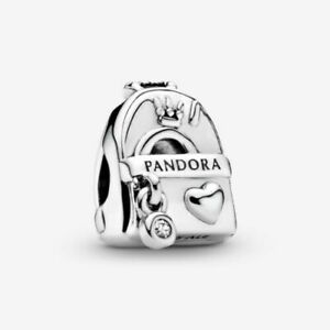 Brand New Genuine PANDORA BACKPACK Traveller Sterling Silver Charm S925 ALE