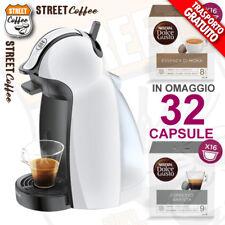 MACCHINA CAFFE DE LONGHI PICCOLO CAPSULE DOLCE GUSTO + 32 CAFFE OMAGGIO